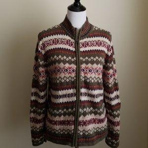 Tiara International sweater jacket
